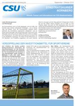 CSU-Fraktion Nürnberg - Stadtratskurier - 2018/03