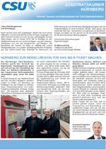 CSU-Fraktion Nürnberg - Stadtratskurier - 2019/01