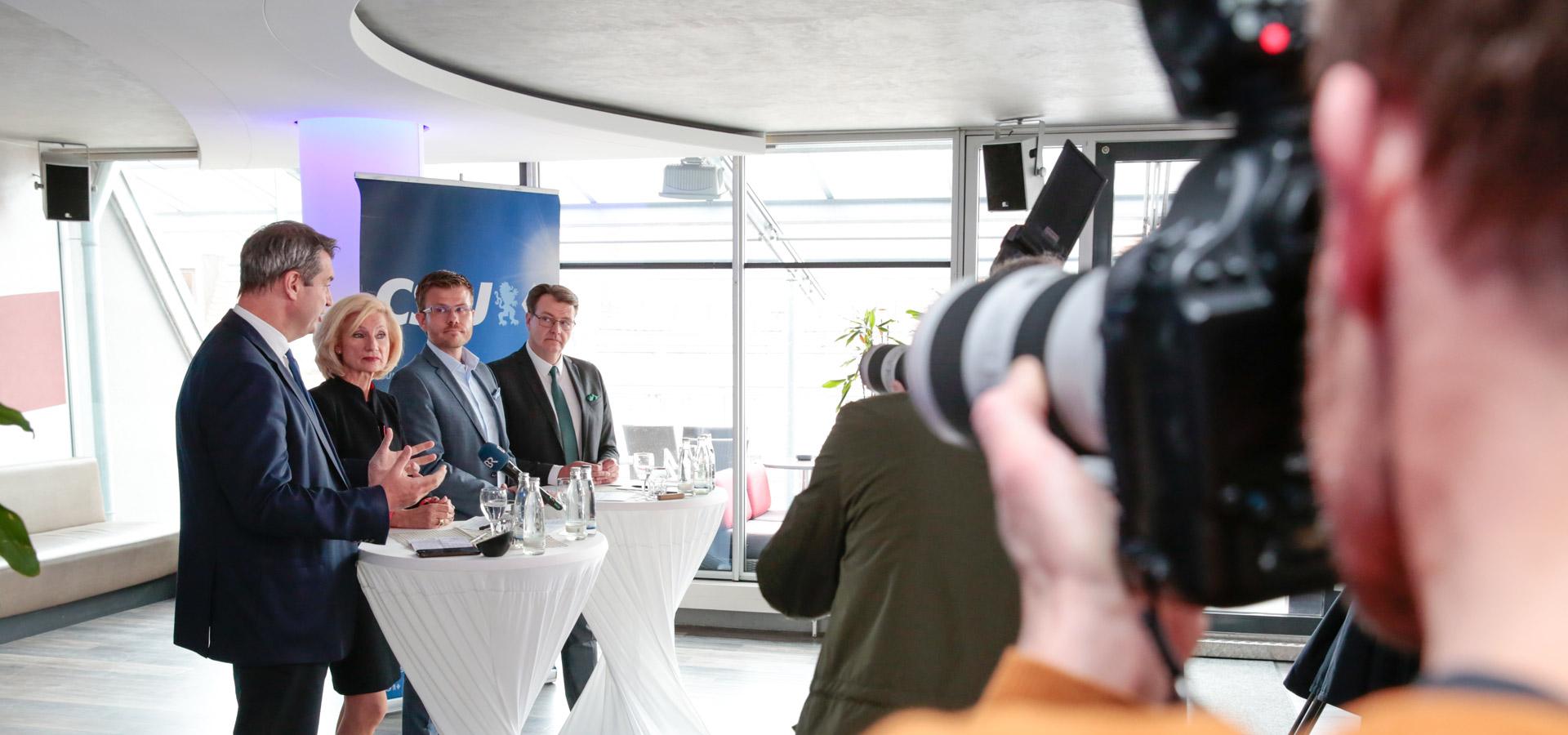 CSU Stadtratsfraktion Nürnberg - Pressekonferenz