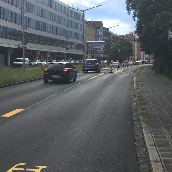 Erfolgloses Radweg-Experiment in der Rothenburger Straße beenden