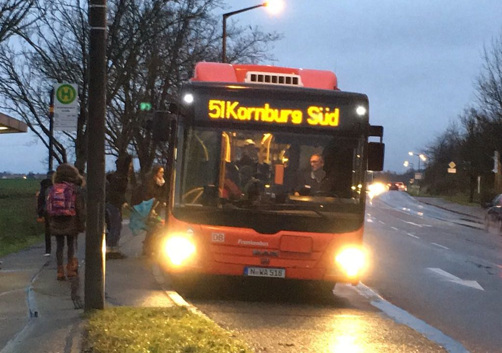 Buskonzept Nürnberg-Süd startet