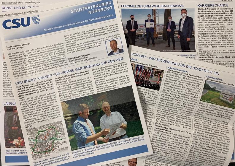 Neuer Stadtratskurier online