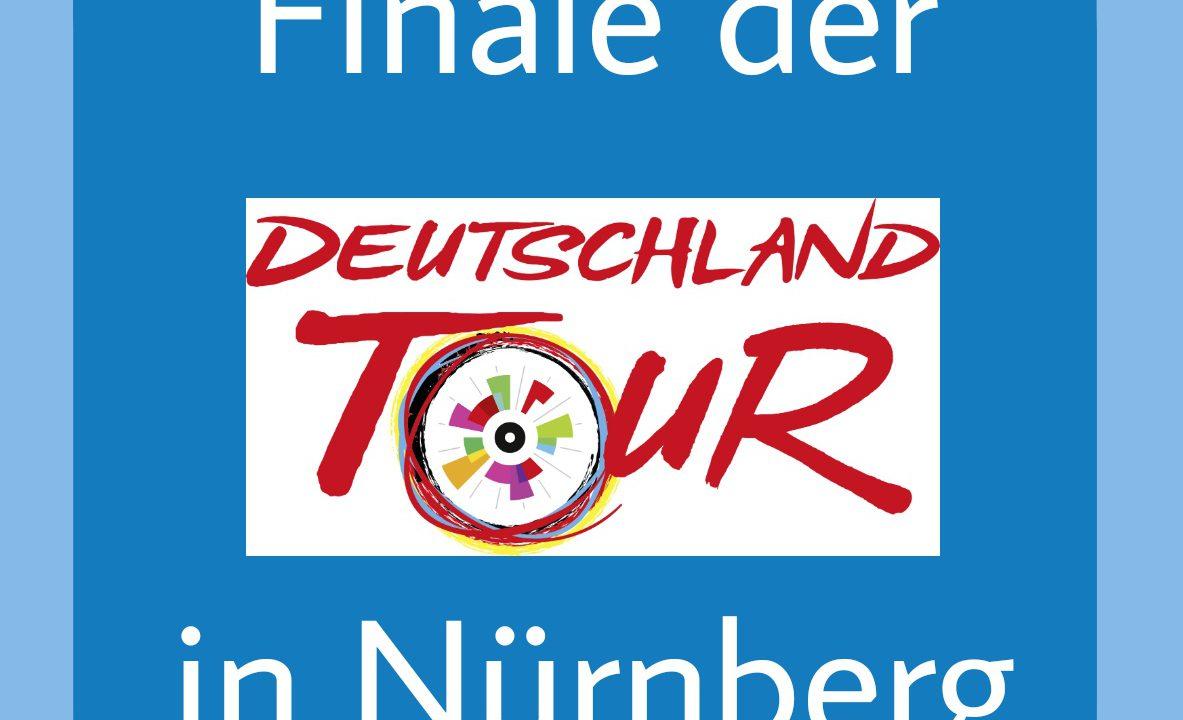 Finale der Deutschland Tour in Nürnberg